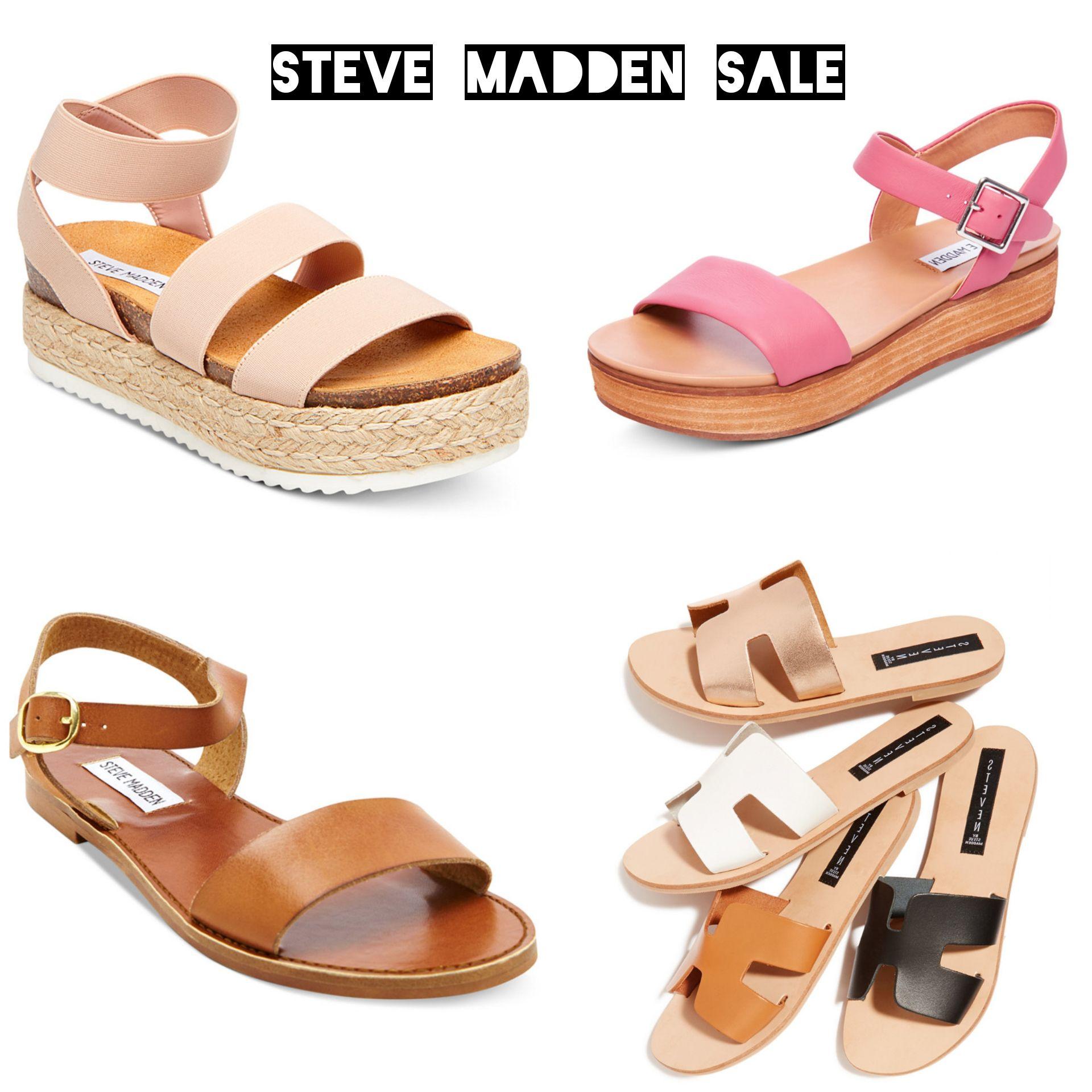 Steve Madden SPRING sandals on SALE
